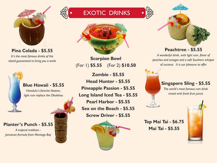 Exotic-Drinks